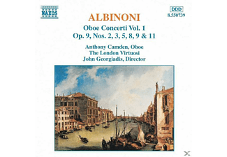 Anthony Camden, Camden/Georgiadis/London Virt. - Oboenkonzerte Vol.1 - (CD)