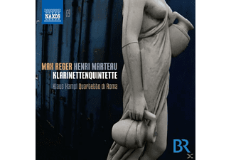 Klaus & Quartetto Di Roma Hampl - Klarinettenquintette - (CD)