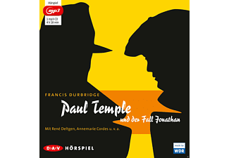 Paul Temple und der Fall Jonathan - 1 MP3-CD - Krimi/Thriller