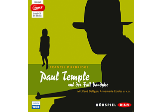 Paul Temple und der Fall Vandyke - 1 MP3-CD - Krimi/Thriller