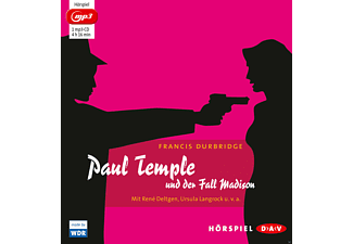 Paul Temple und der Fall Madison - 1 MP3-CD - Krimi/Thriller