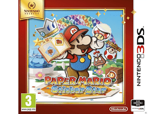 Paper Mario Sticker Star Selects Nintendo 3DS