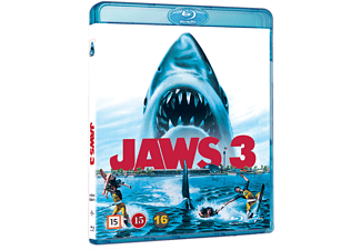 Jaws 3 Blu ray Skräck Blu-ray