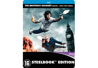 The Brothers Grimsby Steelbook | Blu-ray