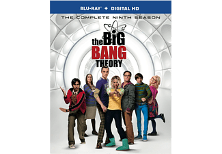 The Big Bang Theory S9 Blu-ray Komedi Blu-ray