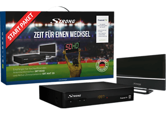STRONG SRT 8540 + ANT 30 DVB-T2 HD Receiver