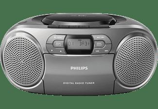 philips radio cd dab dab en cassettespeler azb600 12. Black Bedroom Furniture Sets. Home Design Ideas
