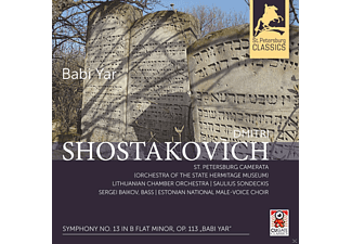 Saulius Sondeckis - Sinfonie 13 In B Flat Minor Op.113 'babi Yar' [CD]