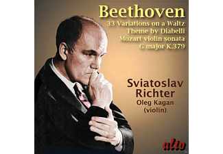 Oleg Kagan, Sviatoslav Richter - Diabelli Variationen/Violinsonate In G-Dur, K 379 [CD]