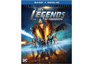 Legends of Tomorrow DC Säsong 1 Blu-ray Action Blu-ray