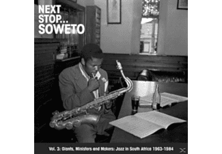 VARIOUS - Next Stop... Soweto Vol.3 - (Vinyl)