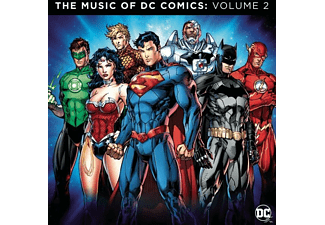 VARIOUS - The Music of DC Comics: Vol.2 - (CD)