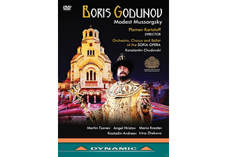 VARIOUS, Orchestra, Chorus And Ballet Of The Sofia Opera - Boris Godunov - (DVD)