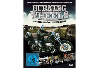 Burning Wheels - Amerikas größte Biker Party [DVD]