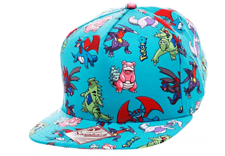 Pokemon Snapback Cap Charaktere all over printed
