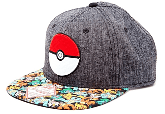 Pokemon Snapback Cap Poke Ball