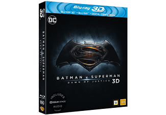 Batman V Superman: Dawn of Justice 3D Blu-ray Action Blu-ray