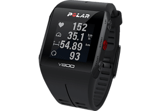 POLAR V800 Special Edition Bundle, Sportuhr, 130-230 mm, Schwarz