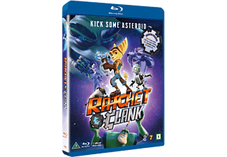 Ratchet & Clank Blu-ray Animation / Tecknat Blu-ray