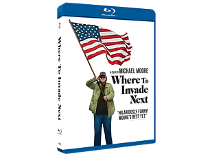 Where to Invade Next Blu-ray Dokumentär Blu-ray