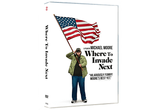 Where to Invade Next DVD Dokumentär DVD