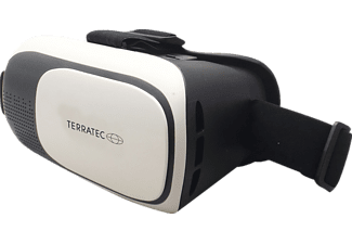 TERRATEC VR-1, Virtual Reality Brille, Schwarz/Weiß