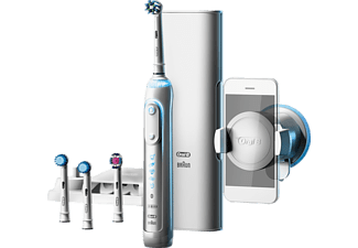 Oral-B Genius 9000S Roterende-oscillerende tandenborstel Wit