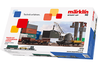 "MÄRKLIN Start up ""Containerverladung"" Wagen-Set"