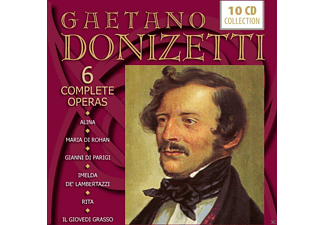 VARIOUS - Donizetti: 6 Complete Operas - (CD)