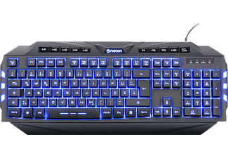 NACON CL-200, Gaming Tastatur, Rubberdome