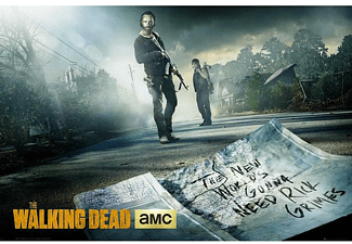 The Walking Dead Poster Rick & Daryl Road