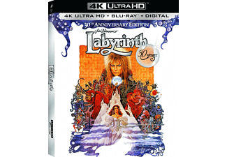 Labyrinth 30TH AE 4K UHD Blu-ray Äventyr Blu-ray