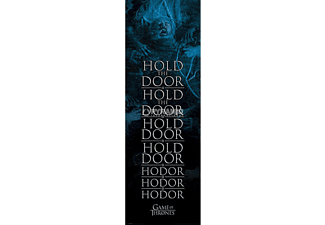 Game of Thrones Poster Hold the Door Hodor