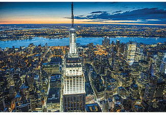 New York Poster Empire State Building bei Nacht