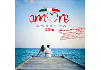 VARIOUS - Amore Romantico 2016 - (CD)