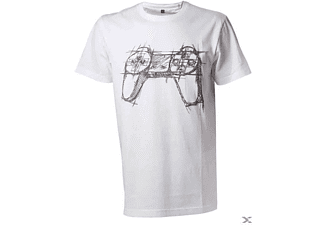 White Controller T-Shirt S
