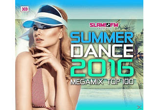 VARIOUS - Summer Dance 2016/Megamix Top 100 [CD]