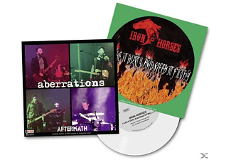 Iron Horses/Aberrations - I Like It Dirty/Aftermath (Clear Vinyl) - (Vinyl)