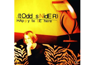 Todd Snider - Happy To Be Here [CD]