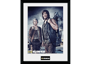 "The Walking Dead Collector Print ""Daryl & Carol"""