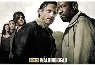 The Walking Dead Poster Hauptcharaktere