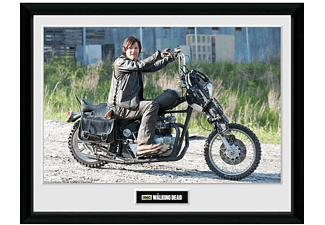 "The Walking Dead Collector Print ""Daryl Bike"""