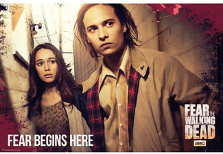 Fear The Walking Dead Poster Fear Begins Here