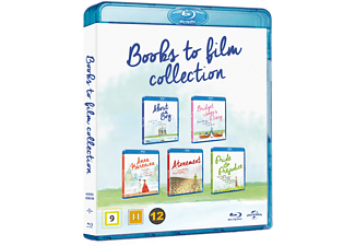 Books to Film Samlingsbox Blu-ray Drama Blu-ray