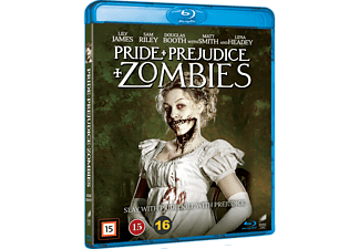 Pride and Prejudice and Zombies Skräck Blu-ray