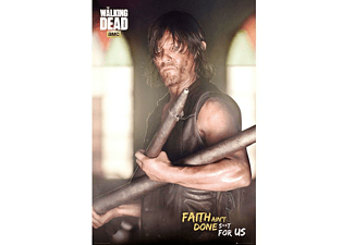 The Walking Dead Poster Daryl Faith Portrait