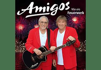 WIE EIN FEUERWERK. AMIGOS, CD