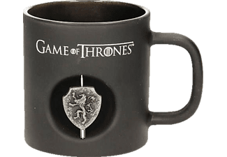 Game of Thrones Tasse schwarz Lannister 3D-Logo
