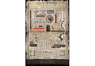 Game of Thrones Poster Infographic