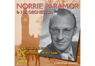 Norrie Paramor & His Concert Orchestra - In London & In London In Love Again - (CD)